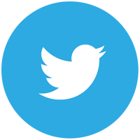 Image result for twitter logo round